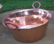 Cazos de cobre cobre martillado santa clara del cobre - Cazuelas de cobre ...